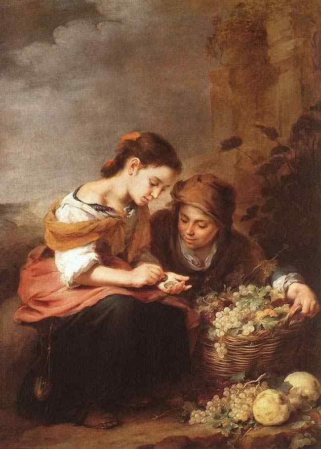 Bartolomé Esteban Murillo - A pequena vendedora de frutas