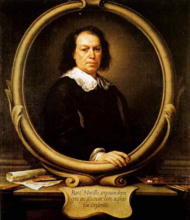 Bartolomé Esteban Murillo - Auto-retrato