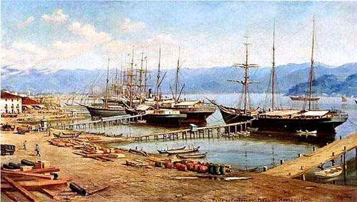Benedito Calixto - Porto Santos