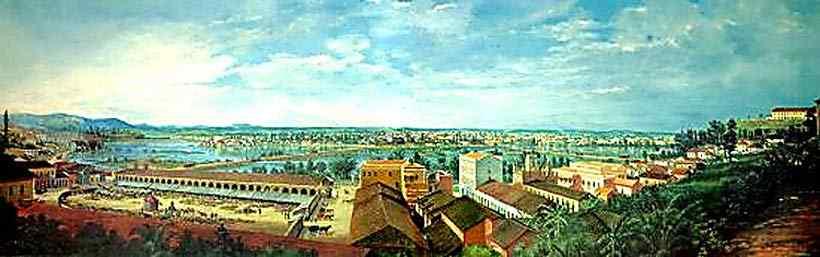 Benedito Calixto - Inundação da Várzea do Carmo