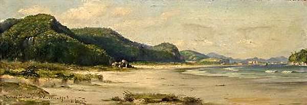 Benedito Calixto - Praia de Itararé