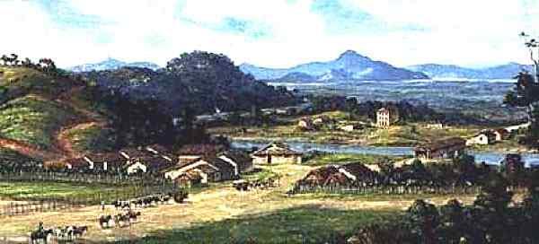 Benedito Calixto - Cubatão em 1826
