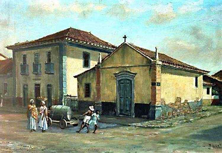 Benedito Calixto - Capela da Graça