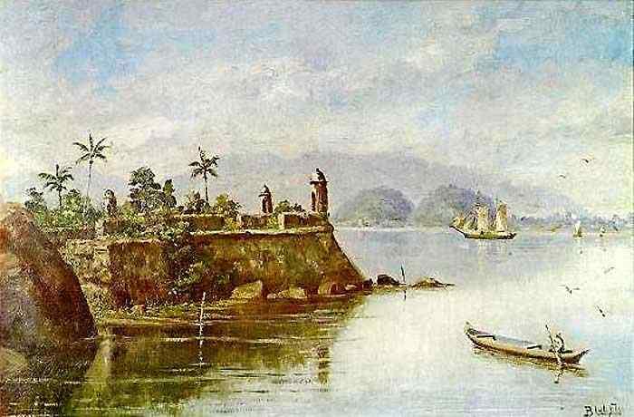 Benedito Calixto - Forte do Itapema e Outeirinhos