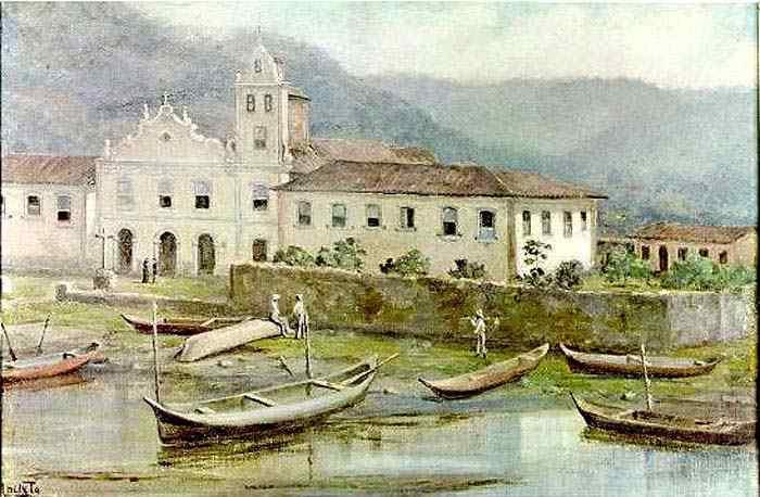Benedito Calixto - Igreja do Convento do Valongo