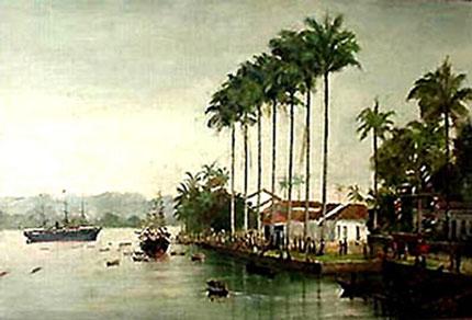 Benedito Calixto - Porto de Santos