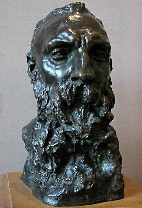 Camille Claudel - Retrato de Auguste Rodin