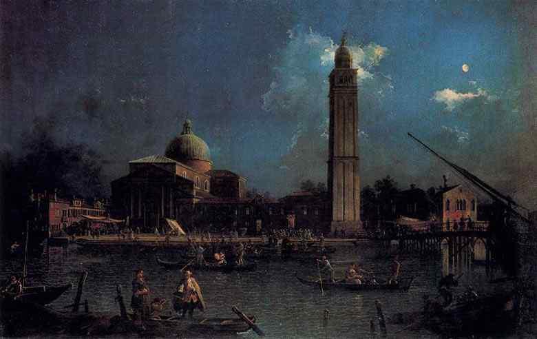 Canaletto (Antonio Canale) - A vigília de São Pedro