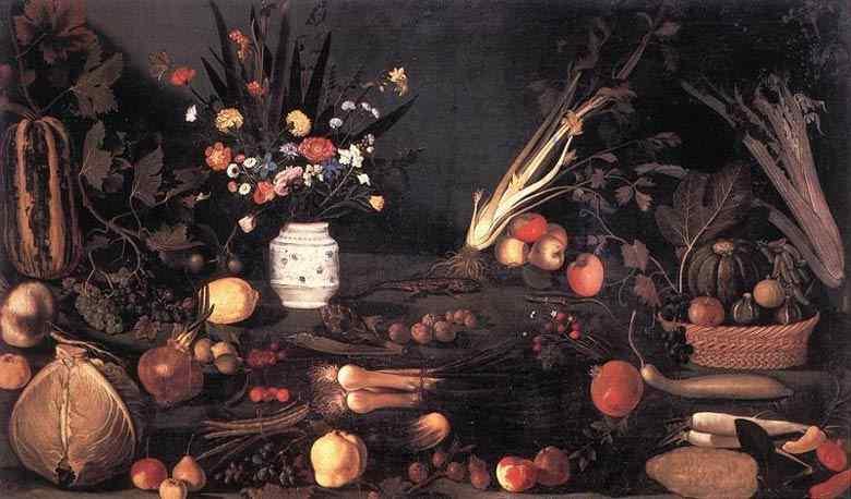 Caravaggio (Michelangelo Merisi) - Natureza morta