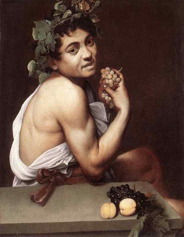 Caravaggio (Michelangelo Merisi) - Baco enfermo