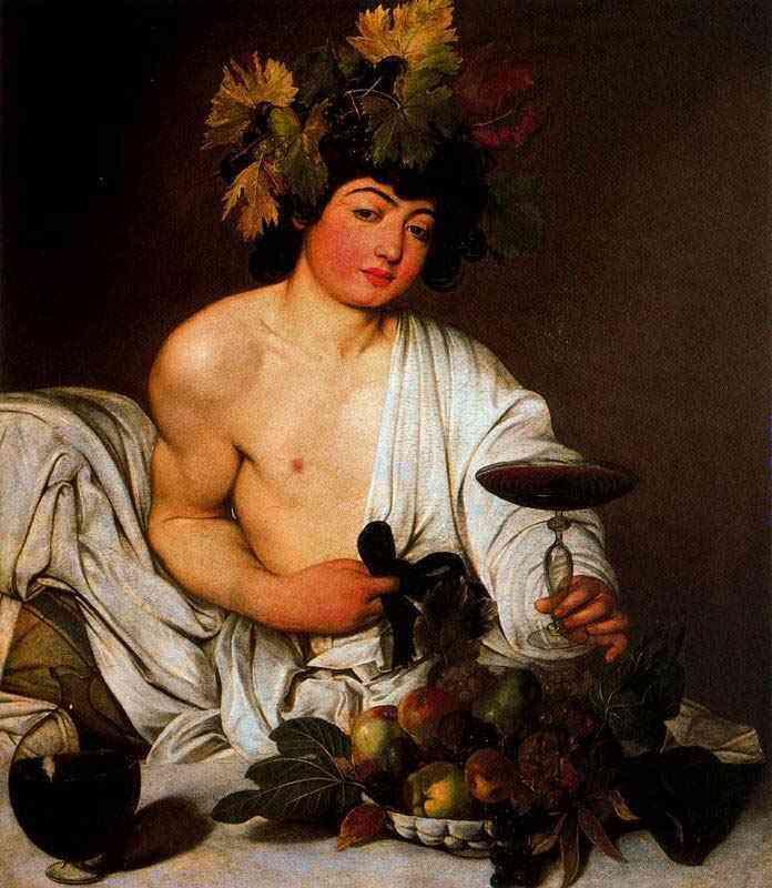 Caravaggio (Michelangelo Merisi) - Baco