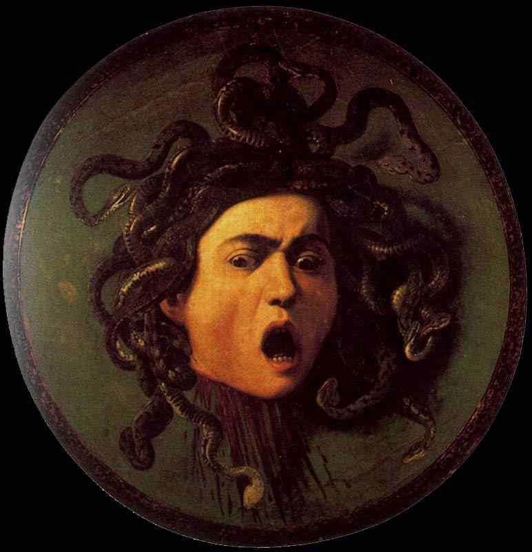 Caravaggio (Michelangelo Merisi) - Cabeça de Medusa