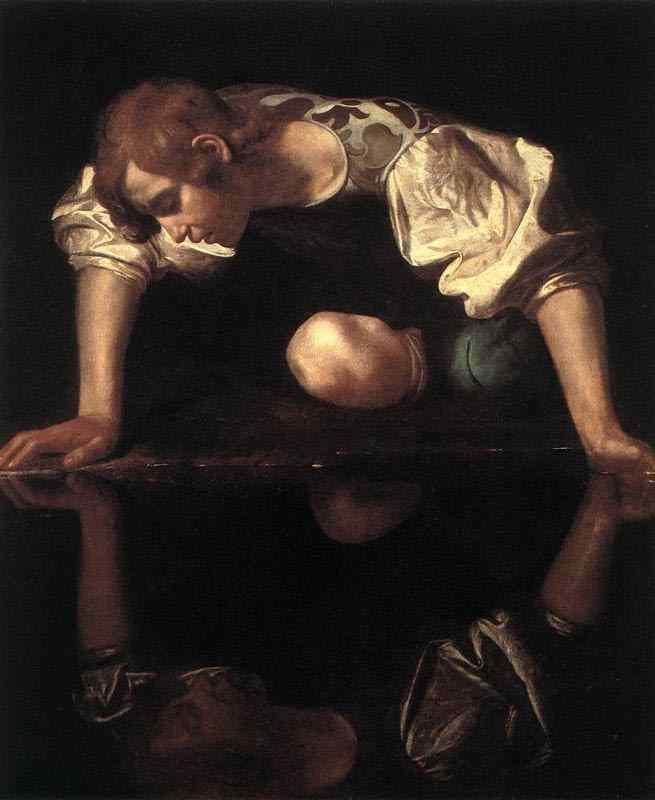 Caravaggio (Michelangelo Merisi) - Narciso