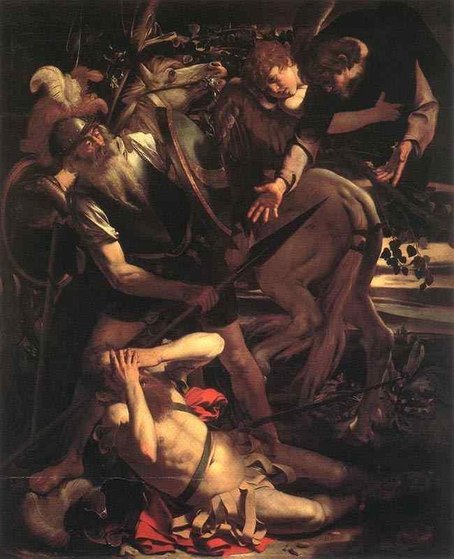 Caravaggio (Michelangelo Merisi) - Conversão de São Paulo