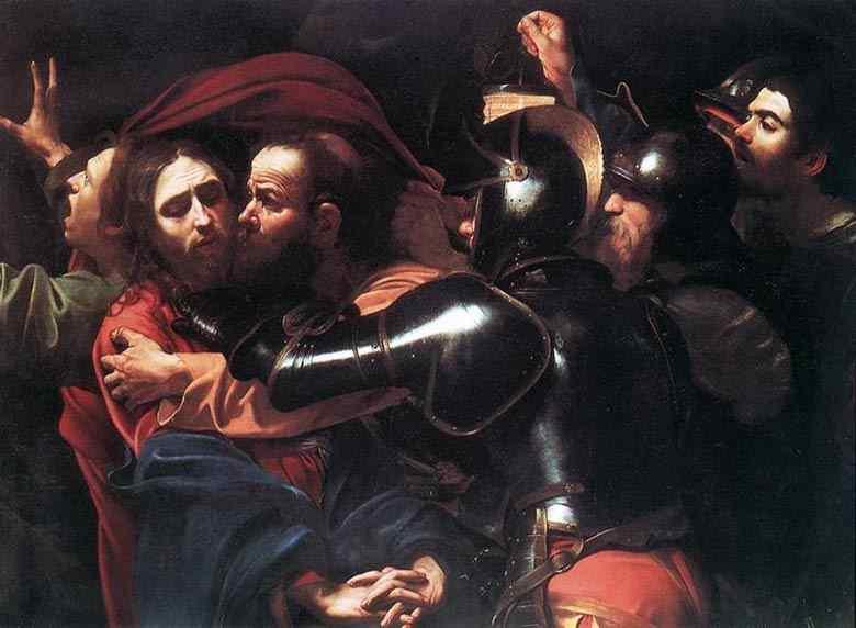 Caravaggio (Michelangelo Merisi) - Prisão de Cristo
