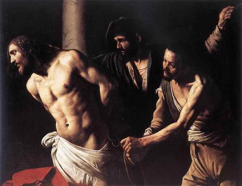Caravaggio (Michelangelo Merisi) - Cristo na coluna