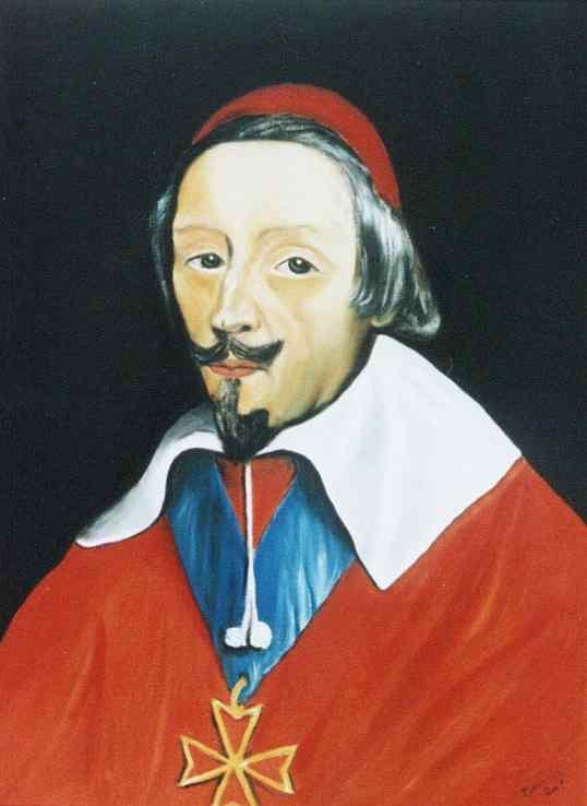 Carlos Meinardi - Cardeal de Richelieu (Philippe De Champaigne) (réplica)