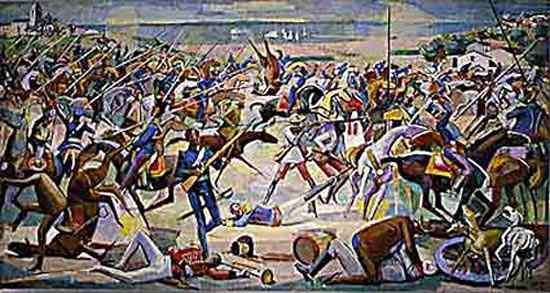 Hector Julio Páride Bernabó Carybé - Batalha de Pirajá