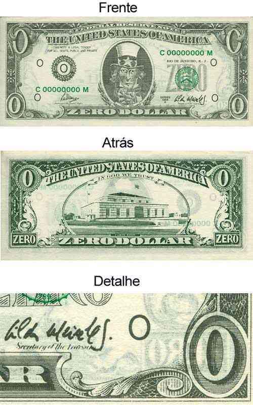 Cildo Meireles - Zero dólar