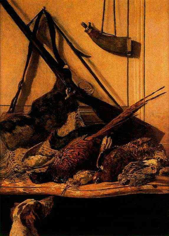 Claude Monet - Troféu de caça