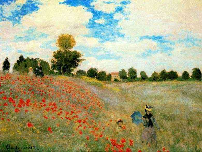 Claude Monet - As amapolas