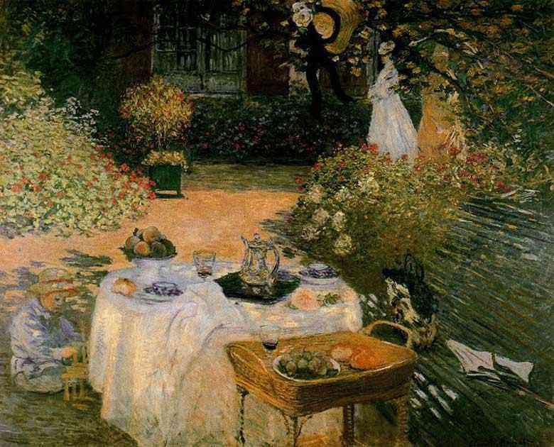 Claude Monet - O almoço