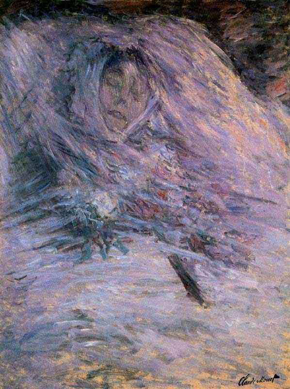 Claude Monet - Camille em seu leito de morte