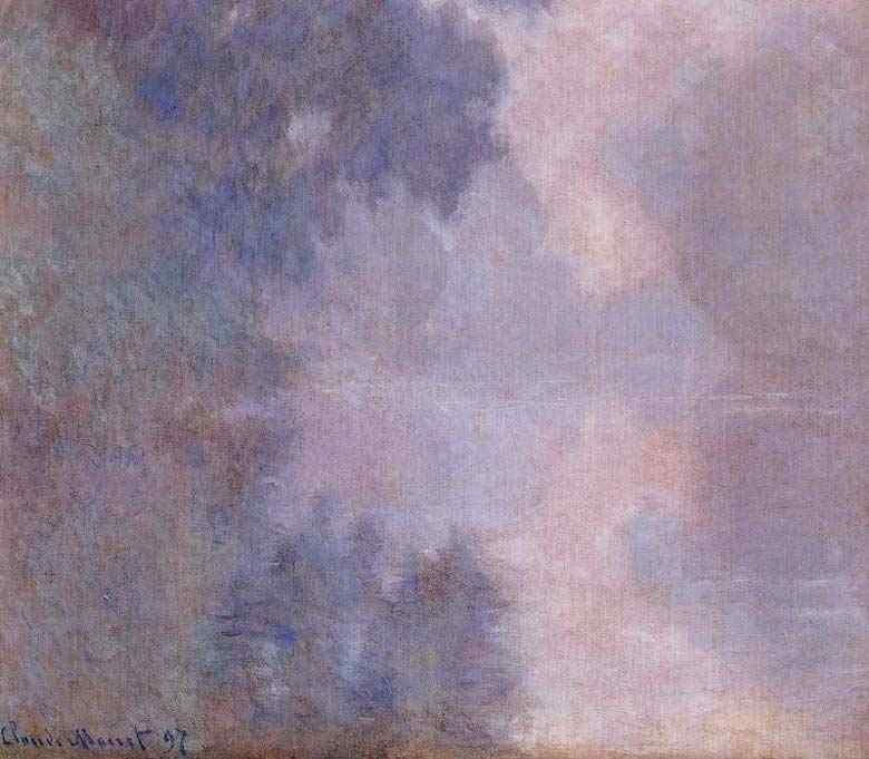 Claude Monet - Manhã no Sena