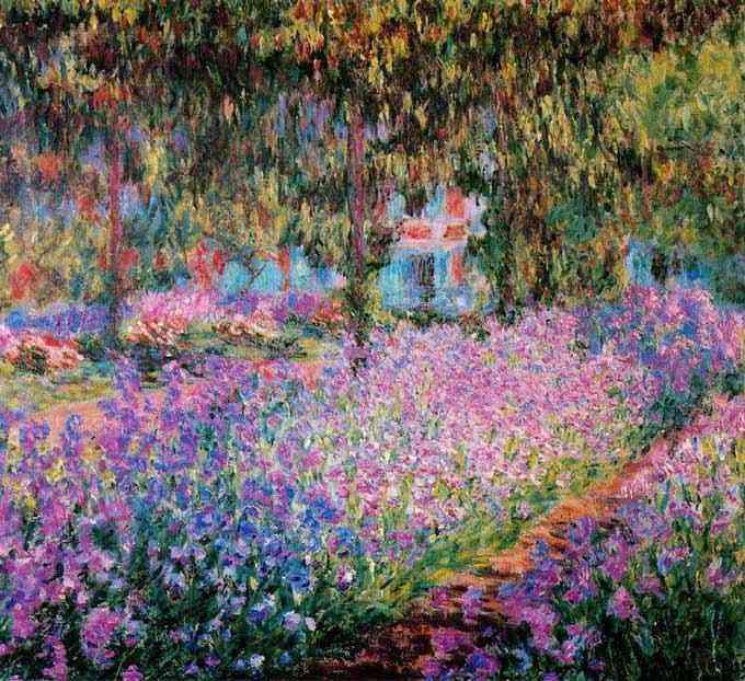 Claude Monet - O jardim do artista em Giverny
