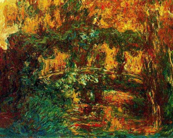 Claude Monet - A ponte japonesa