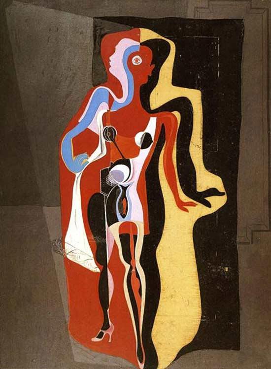 Salvador Dali - A manequim