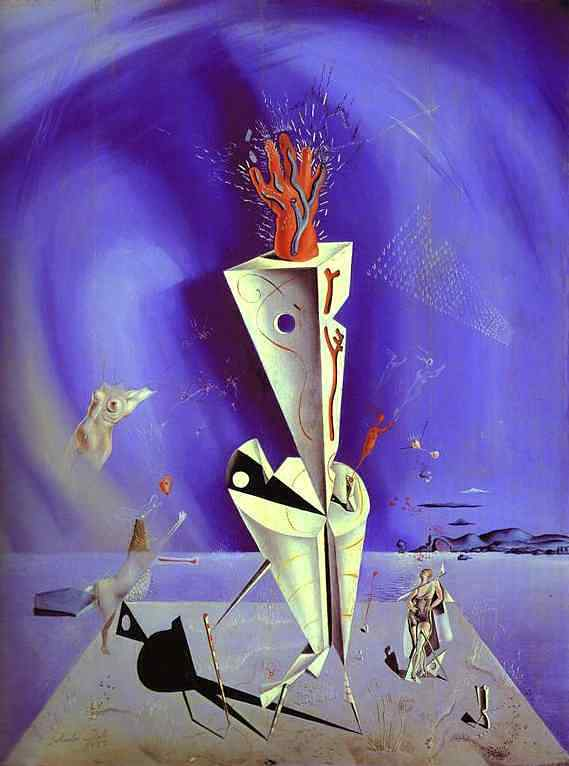 Salvador Dali - Instrumento e mão