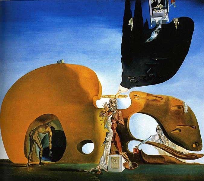 Salvador Dali - O nascimento dos desejos líquidos