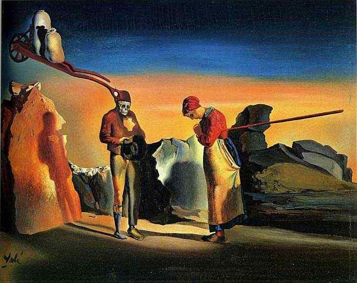 Salvador Dali - Atavismo no crepúsculo