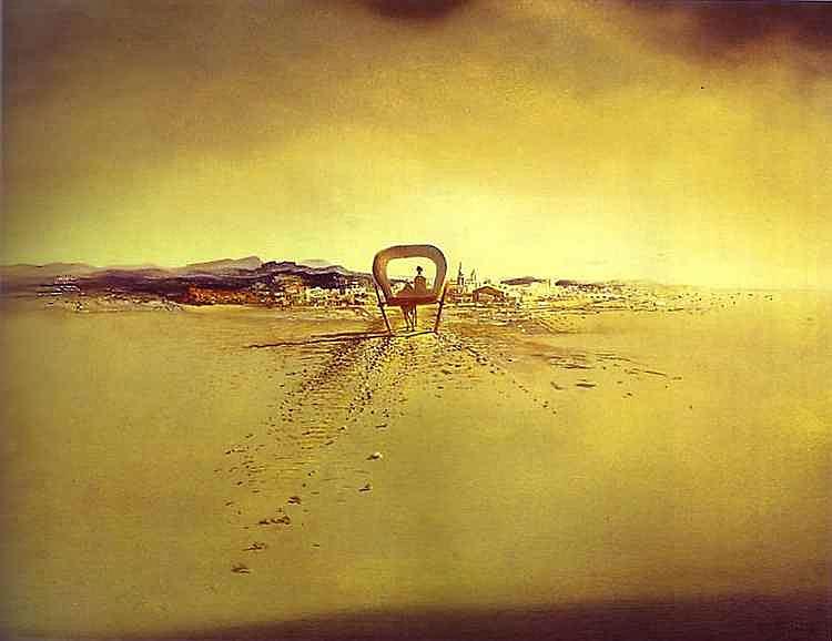 Salvador Dali - O vagão fantasma