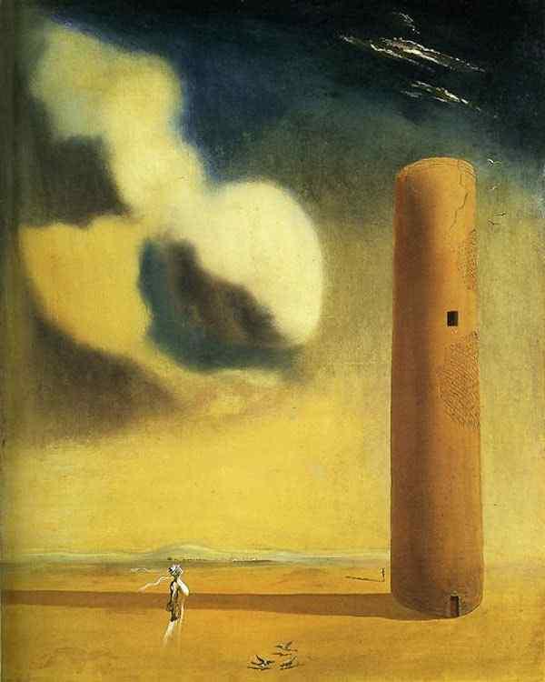 Salvador Dali - A torre