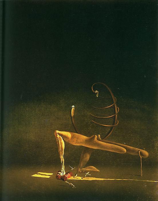 Salvador Dali - Manequim javanesa