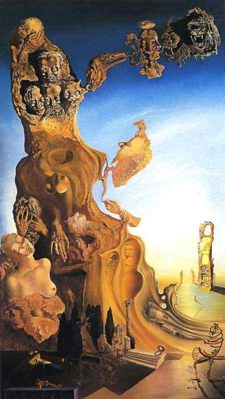 Salvador Dali - Monumento imperial para mulher-criança