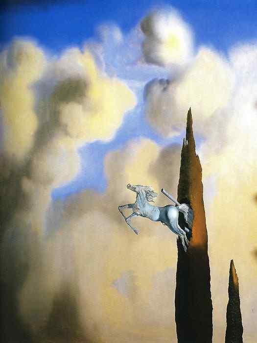 Salvador Dali - Ossificação matutina do cipreste