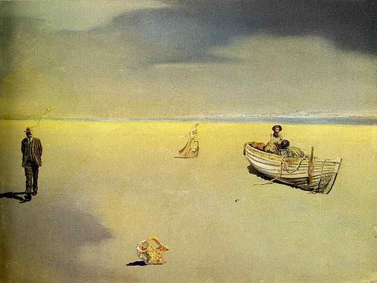 Salvador Dali - Imagem Paranóica Astral