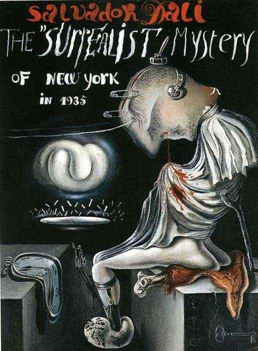 Salvador Dali - O mistério surrealista de Nova Iorque em 1935