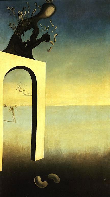 Salvador Dali - Sem título (ou Visão da Eternidade)