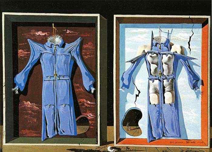 Salvador Dali - Dia e noite do corpo
