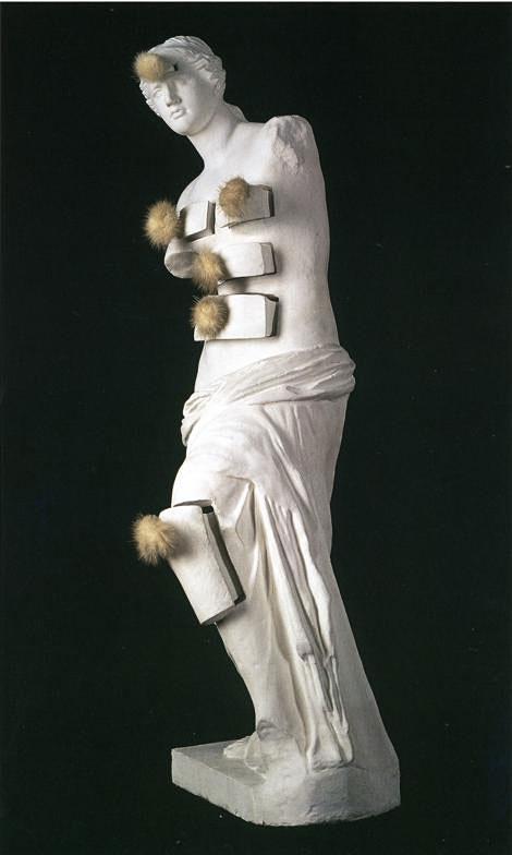 Salvador Dali - Venus de Milo com gavetas