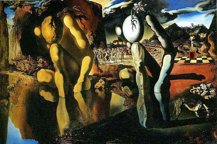 Salvador Dali - A metamorfose de Narciso