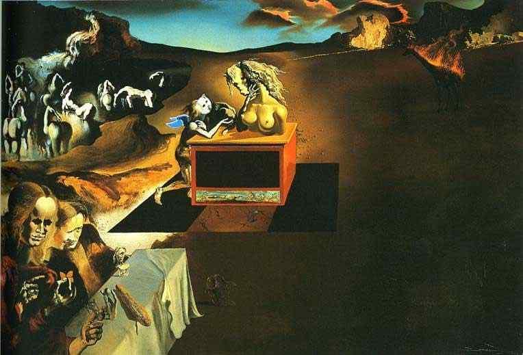 Salvador Dali - Invenção dos monstros
