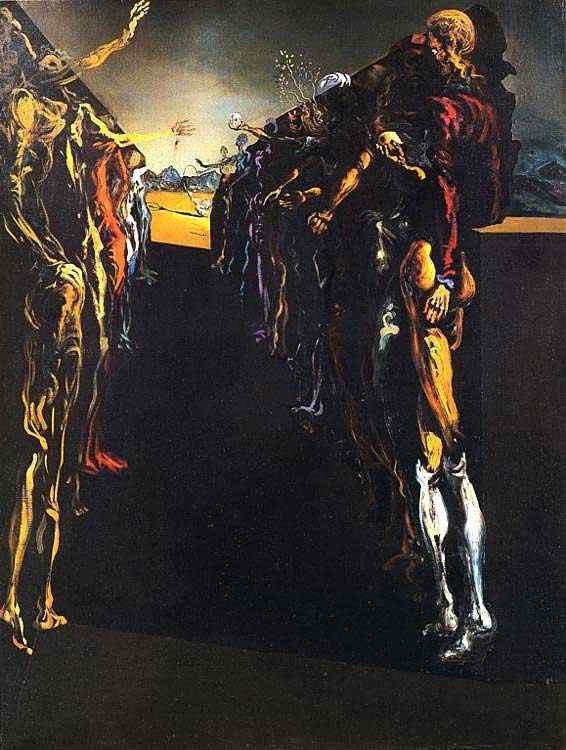 Salvador Dali - O corredor Talia de Palladio