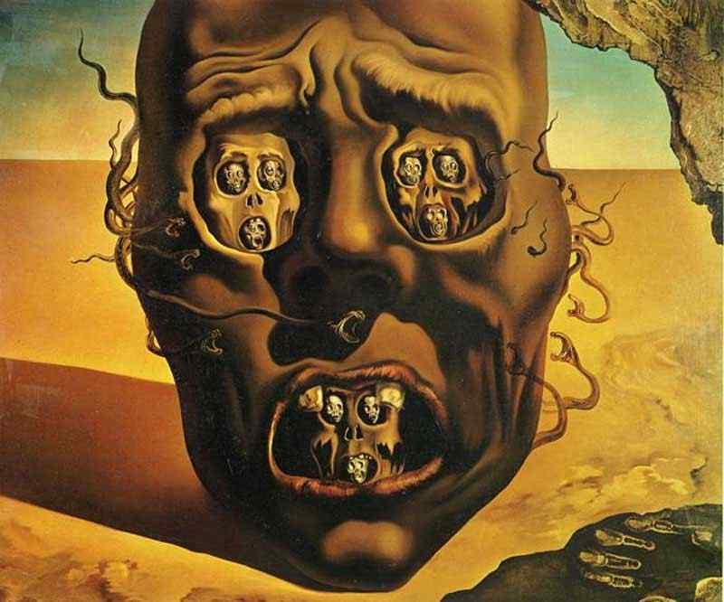 Salvador Dali - Face da guerra