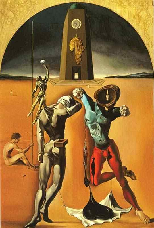Salvador Dali - Poesia da América (ou Atletas cósmicos)