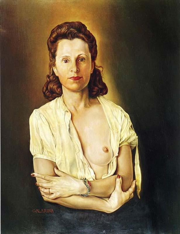 Salvador Dali - Galarina